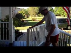 Make A Rolling Gate For Your Porch