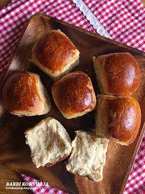 Barbi konyhája: Villám zsemlék reggelire Bread Rolls, Pretzel Bites, Nutella, Bread Recipes, Food And Drink, Baking, Foods, Essen, Bakken