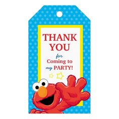 Extreme Elmo Birthday 10 packs of gift tags Elmo Birthday, Boy Birthday Parties, Birthday Party Invitations, Birthday Gifts, Birthday Ideas, Elmo Party Favors, Preschool Birthday, Happy Birthday, Birthday Stuff