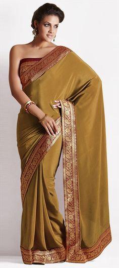 101617 Henna color saree by designer Manish Malhotra at Lakme Fashion Week Day 2 #WeLove Get similar in this saree.