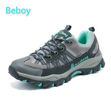 Beboy Genuine Leather Hiking Shoes Women Resistant Outdoor Climbing Trekking Shoes Sneakers Breathable Mesh Walking Sport Shoes     Tag a friend who would love this!     FREE Shipping Worldwide     Get it here ---> http://workoutclothes.us/products/beboy-genuine-leather-hiking-shoes-women-resistant-outdoor-climbing-trekking-shoes-sneakers-breathable-mesh-walking-sport-shoes/    #running