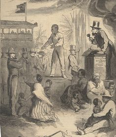 Slave Auction are places where slave families get separated and are sold to different people.