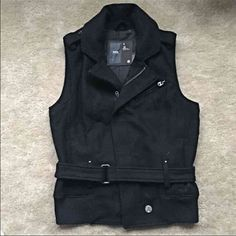 RARE G-STAR RAW wool vest! Excellent condition! Size S! Great for the winter :) G-Star Jackets & Coats Vests