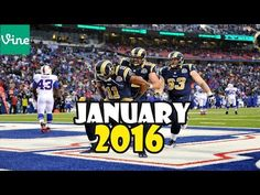 Best Football Vines Compilation ► January 2016 Week 1 [ Touchdown Dance Celebrations] - YouTube