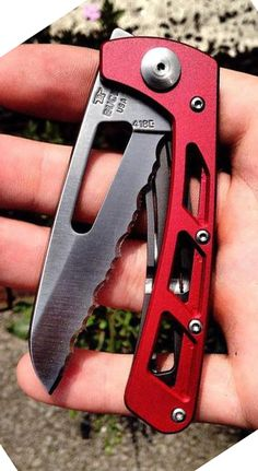 Buck Knives 418 Vertex Serrated Folding EDC Pocket Knife Blade with Removable Clip - Everyday Carry Knives Buck Knives, Cool Knives, Knives And Tools, Knives And Swords, Survival Knife, Survival Prepping, Bushcraft, Outdoor Tools, Outdoor Knife