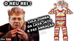 Aparentemente Bêbado, Lula ZOMBA da LavaJato, desafia a justiça e faz am...