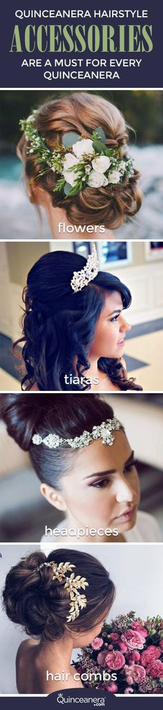 You'll soon learn that wearing hair accessories has become a must for every quinceanera! Find the hairstyles and hair accessories that scream YOU. - See more at: http://www.quinceanera.com/accessories/hair-accessories-to-take-your-hairstyle-to-the-next-level/#sthash.pqXc4ges.dpuf