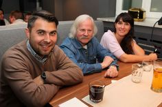 From the left: Mateusz Górecki (4FunMedia), Janusz Kołodziej (Telepro), Magdalena Jabłońska (Evio Polska)