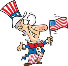 funny 4th of july clipart