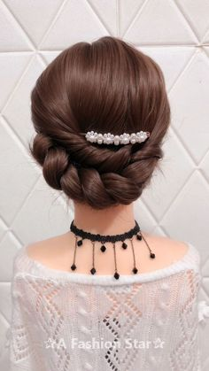10 Amazing Braid Hairstyles - Fashion Braids Hairstyle For 2019 Braid Hairstyles - Are you looking for Braids for your hair? Congratulations, you will get it today. This article will show you 10 stylish braids hair ideas Box Braids Hairstyles, Cute Hairstyles, Wedding Hairstyles, Hairstyle For Curly Hair, Curly Hair Braids, Hairstyle Wedding, Brunette Hairstyles, Fashion Hairstyles, Hairstyles Videos