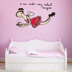 Vinils disponibles també a català en www.chispum.com! Si em crides vaig volando by Eva Armisén (vinilo Si me llamas voy volando ::: wallsticker If you call me I come flying by Eva Armisén)