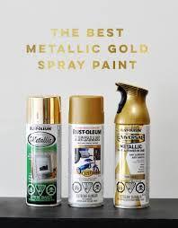 The Best Metallic Gold Spray Paint - visual heart creative studio - elena Best Gold Spray Paint, Spray Paint Frames, Metallic Gold Spray Paint, Rustoleum Metallic, Gold Paint, Paint Metal, Mirror Painting, Spray Painting, Painting Vases