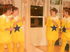 A little peek inside the head of Becky Dayton.: How to Be a Star Bellied Sneetch Dr Seuss Costumes, Teacher Costumes, Easy Costumes, Halloween Costumes, Halloween Ideas, Costume Ideas, Dr Suess Characters, Dress Up Storage, Dr Seuss Week