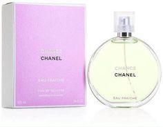 Chanel Chance Eau Fraiche EDT 50ml,100ml. ❤️ราคาพิเศษ 2590,4390 บาท❤️ ฟรีค่าส่ง EMS   น้ำหอมรับกลิ่นใหม่เพื่อสร้างกลิ่นหอมที่ เต็มไปด้วยความปิติยินดีที่มีชีวิตชีวา Chance Eau Fraiche (สีเขียว) น้ำหอม Chanel Chance Eau Fraiche - Eau de Toilette หอมตรงตามชื่อ Eau Fraiche มากๆ ใช้แล้วกลิ่นน้ำหอม Fresh และ Cool สุดๆ ถ้าใครชอบน้ำหอมกลิ่นแบบสดชื่น มากกว่าแนวหวานมึนๆ ขวดนี้โดนน้ำหอม CHANCE หอมใสๆถูกใจสาวๆ  ติดต่อสอบถามทาง Inbox Line ID : AdamEva.gallery Tel : 094-846-9415