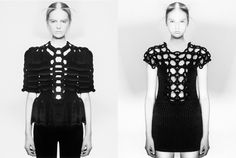 ARCHITECT COUTURE // PETER GEHRKE    ARCHITECTURE / BLACK AND WHITE / CONSTRUCTED TEXTILES / FASHION / FOLDED / KNITWEAR / PLEATED / STRUCTURED / WRAPPED