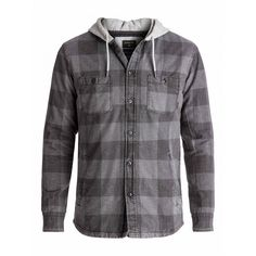Mens Mil Ton Long Sleeve Hooded Shirt