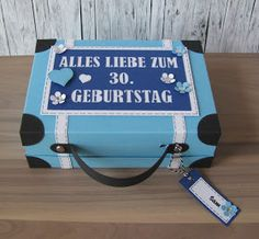 Koffer Amsterdam Reisegutschein Städtereise Geburtstag Geschenk Gutschein Geschenkkoffer