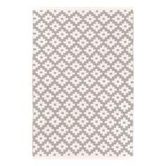 Dash & Albert Indoor/Outdoor Teppich Samode Platinum/Ivory, 54,00