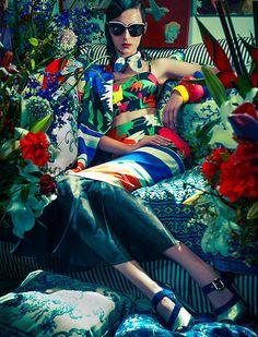 Waleska Gorczevski by Zee Nunes for Vogue Brazil