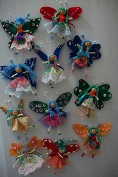 Fairy Magnets! by Dona Raposa, via Flickr