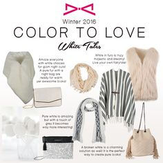 White Tales: A color to love Fall Winter 2015, Pure White, Pure Products, Color, Colour, Colors