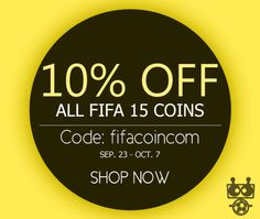 """Use great discount code """"fifacoincom"""" to enjoy 10% OFF for all console in www.fifacoin.com! HURRY UP!"""