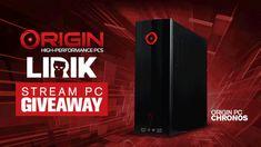 Enter This #ORIGINPC CHRONOS Stream PC #Giveaway With LIRIK!