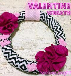 10 Pretty Valentine's Day Wreaths to Make