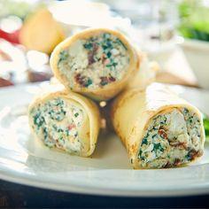 Fresh Rolls, Healthy Recipes, Healthy Food, Food And Drink, Favorite Recipes, Cooking, Ethnic Recipes, Pierogi, Polish Food Recipes
