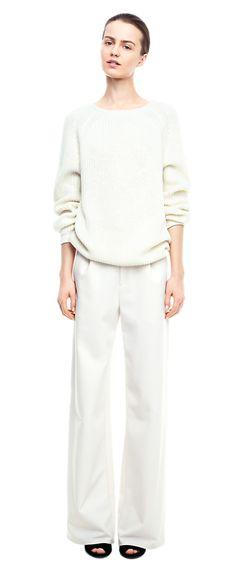 Rib Raglan Pullover - Knitwear - Woman - Filippa K