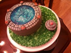 Stargate cake! #Stargate #cake