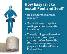 The ease of using Peal and Seal for mobile home roof repair doesn't mean that it isn't durable, though. It's been laboratory tested in conditions simulating 100 mph winds and 8in or rain per hour. Peel and Seal even self-sealed around the nails that the testers drove into it. The manufacturer is so confident in it that they gave it a 10 year warranty. Whatever you need, Peal and Seal is the right fit. Give us a call today and we'll set up your order for your mobile home roof repair project.