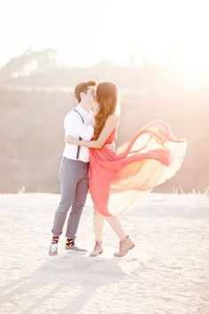 Hollywood Hills love shoot // photo by Glass Jar Photography