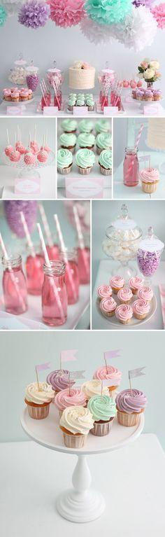 Maybe a little less pink! Chris might not like it.   Candybar Inspirationen von zuckermonarchie