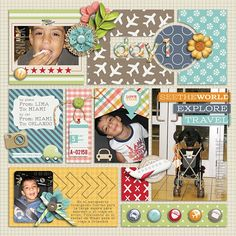 Template from Simply Blocked-Happy Travels by Little Green Frog Designs