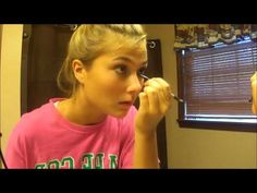 First Day of Middle School Hair, Makeup and Outfit Tutorial!! - YouTube