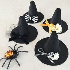 Little Witch Hat felt witch hat headband by LittleBloomsHandmade
