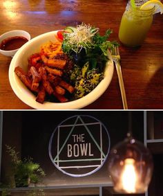 "Vegan Restaurant ""The Bowl"" in Berlin"