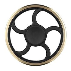 Cheap price Mothca Fidget Hand Spinner Toy Circular Stress Reducer Gold Metal Finger Toy Mute Balance Spin 3-5 minutes Gadget Perfect Size For Kids Ladies ADHD Anxiety Autism Adult Gift (Round) on sale