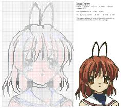 Dork Stitch free pattern anime