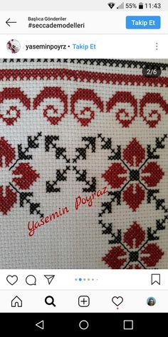 Cross Stitch Designs, Cross Stitch Patterns, Palestinian Embroidery, Crochet Bedspread, Cross Stitch Flowers, Beaded Embroidery, Afghan Dresses, Beads, Crafts