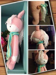 pony mod made by Marjet Q. / based on a lalylala crochet pattern
