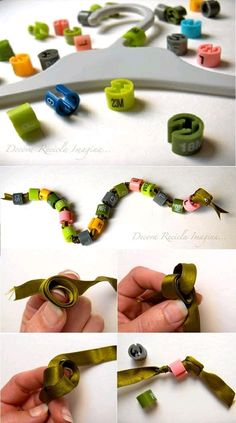 DIY Simple Ribbon Snake DIY Projects
