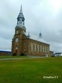 Rare brick church. Most are white clapboard.