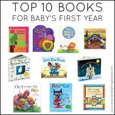 top 10 books for baby @Angela Schultz (hint, hint)