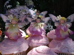 Fairy Cupcake Topper & Favor Tutorial