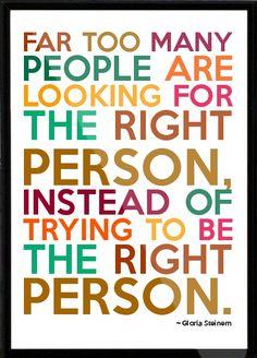 gloria steinem quotes with pics   Truth / Gloria Steinem Framed Quote