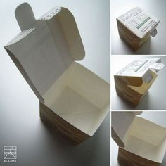 Tetra Pak Box - looks so good; perfect for keeping small things in. Recycled Crafts, Diy And Crafts, Milk Carton Crafts, Used Cardboard Boxes, Tetra Pak, Milk Box, Diy Wallet, Japan Design, Diy Projects To Try