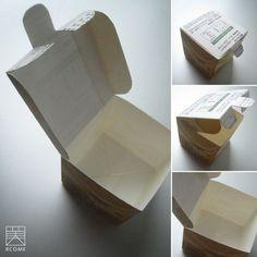 Caja hecha con tetrapack.
