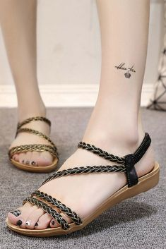 Women Sandals Plus Size 36-42 Summer women shoes fde64a38fdcf